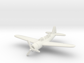 Brewster SB2A Buccaneer 1/285 6mm in White Natural Versatile Plastic