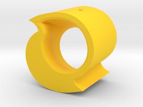 Steemit Ornament 2017 in Yellow Processed Versatile Plastic