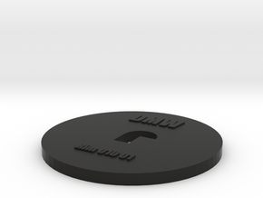 Clay Extruder Die: Rim 010 01 in Black Natural Versatile Plastic