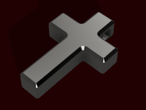 Cross Simple 1 in Matte Black Steel