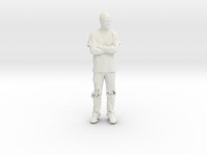 Printle C Homme 131 - 1/32 - wob in White Natural Versatile Plastic