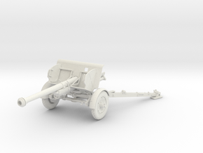 1/30 IJA Type 90 75mm Field Gun in White Natural Versatile Plastic