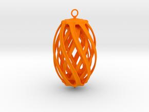 Christmas toy in Orange Processed Versatile Plastic