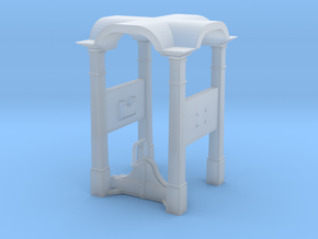 Belfry in 1:24 scale in Smooth Fine Detail Plastic