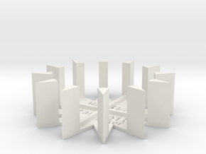 star coil maker sample DIY rodin hz frequency DDS  in White Natural Versatile Plastic