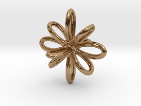 Shape in Polished Brass
