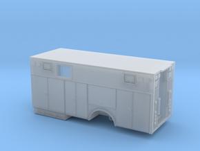 1/160 Single Axle Heavy Rescue body w/ window in Smooth Fine Detail Plastic