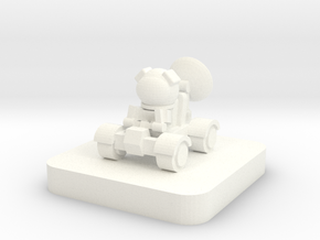 Mini Space Program, Rover Buggy in White Processed Versatile Plastic