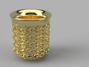 World's Most Expensive Whiskey Cup in 18k Gold
