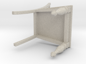 1:12 Chair in Natural Sandstone: 1:8