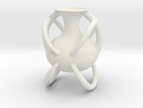 Vase 949am (downloadable) in White Natural Versatile Plastic