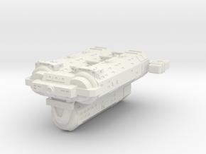 Omni Scale General Jumbo Auxiliary Cruiser SRZ in White Natural Versatile Plastic