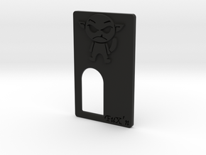 FuX'n Panel  in Black Natural Versatile Plastic