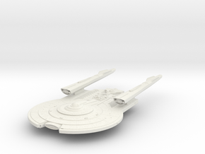 Federation YorkTown Class I  Cruiser in White Natural Versatile Plastic