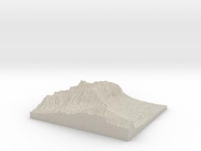Model of Wilson Tunnel in Natural Sandstone