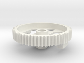 Marui Differential Gear 60T in White Natural Versatile Plastic