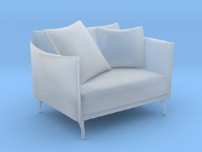 Printle Thing Armchair 04 - 1/43 in Smooth Fine Detail Plastic