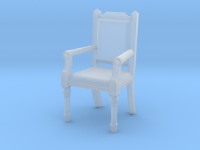 Printle Thing Chair 01 - 1/43 in Smooth Fine Detail Plastic