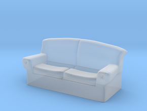 Printle Thing Sofa 06 - 1/43 in Smooth Fine Detail Plastic