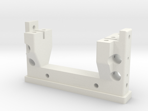 MST CFX CMX Chassis Servo Mount in White Premium Strong & Flexible