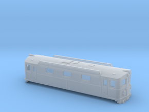 Swedish SJ electric locomotive type Da - N-scale in Smooth Fine Detail Plastic