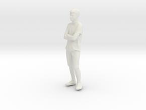 Printle C Homme 139 - 1/32 - wob in White Natural Versatile Plastic