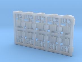 Gleissperrsignal Spur N in Smooth Fine Detail Plastic