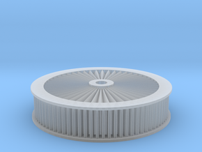 1:12 Scale Air Filter in Smooth Fine Detail Plastic