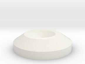 AT-AT Disc in White Natural Versatile Plastic