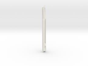 Star Trek 537 Refit Nacelle Center  in White Natural Versatile Plastic