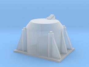 Single Axle Box v.2 1/25 Scale in Smooth Fine Detail Plastic