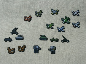 Flan's Mod Complete Vehicle Collection in Full Color Sandstone