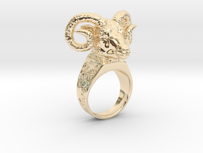 Ring Aries  in 14K Yellow Gold