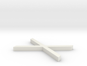 Rune_Gebo in White Natural Versatile Plastic