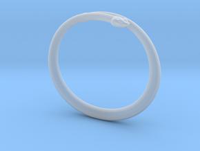 "Bracelet ""Snake"" in Smooth Fine Detail Plastic: Small"