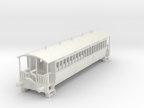 m-100-wisbech-bogie-coach-1 in White Natural Versatile Plastic