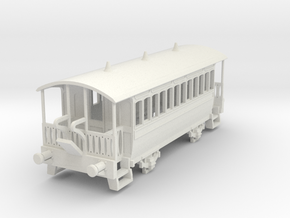 m-100-wisbech-tram-coach-1 in White Natural Versatile Plastic