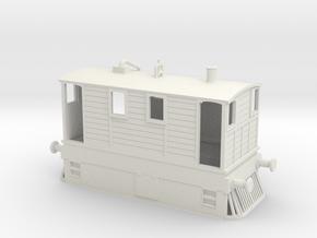 b-76-y6-tram-loco-1 in White Natural Versatile Plastic