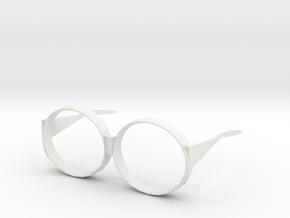 106102337陳俊銘 鏡框 in White Natural Versatile Plastic