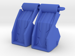 POTP Voyager Starscream Feet in Blue Processed Versatile Plastic