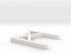 Rune_Manaz in White Natural Versatile Plastic