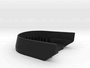 BoostedBoardV2_skid_plate in Black Natural Versatile Plastic