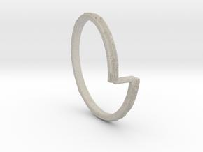 Vod Ring in Natural Sandstone