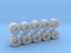 Coil Stahlblech 10erSet - 1:120 TT in Smooth Fine Detail Plastic