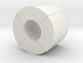 Coil Stahlblech - 1:120 TT in White Natural Versatile Plastic
