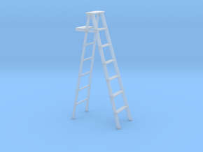 S scale step ladder in Smoothest Fine Detail Plastic