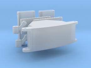 Stoßstange Bumper in Smooth Fine Detail Plastic