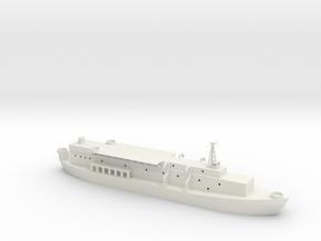 1/285 SCALE APB Barracks Ship in White Natural Versatile Plastic