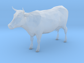 O Scale Cow in Smooth Fine Detail Plastic