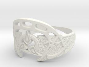 Dahar Master Ring in White Natural Versatile Plastic: 13 / 69